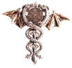 Sacred Dragon Amulet from The Little Shop of Charms